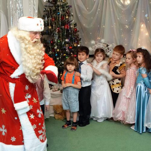 Новый Год в детском садике «Боровичок» рядом с Бременом