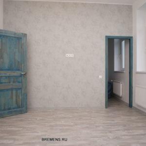Синие двери на заказ