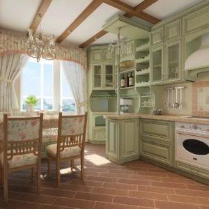 дизайн кухни в таунхаусе