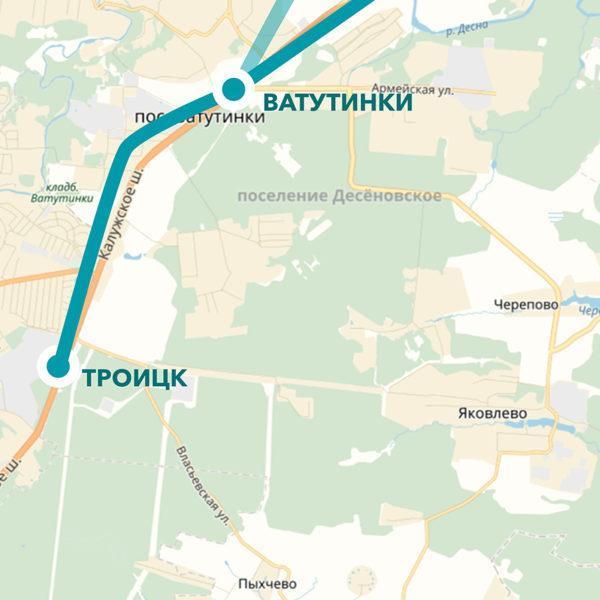 Новую линию метро построят в 3 км от поселка Бремен