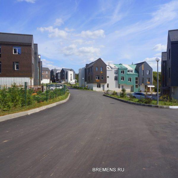 Новый вид поселка Бремен
