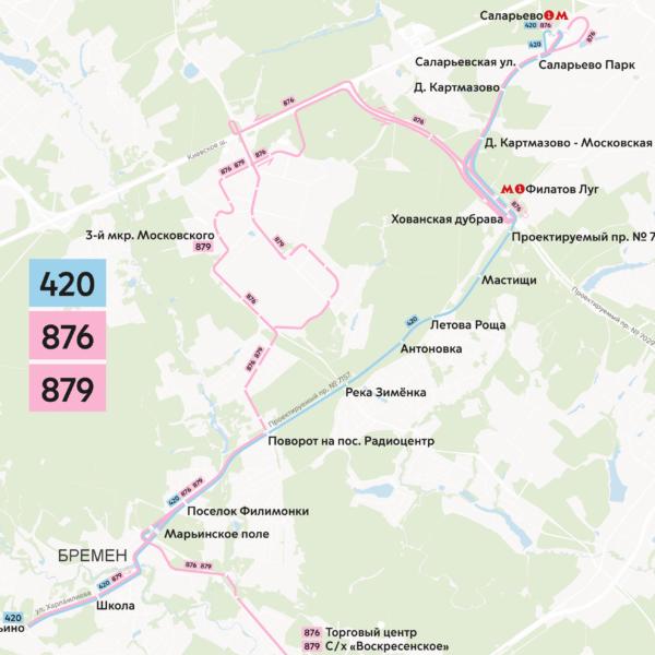 Собянин открыл новую скоростную автодорогу Марьино – Саларьево